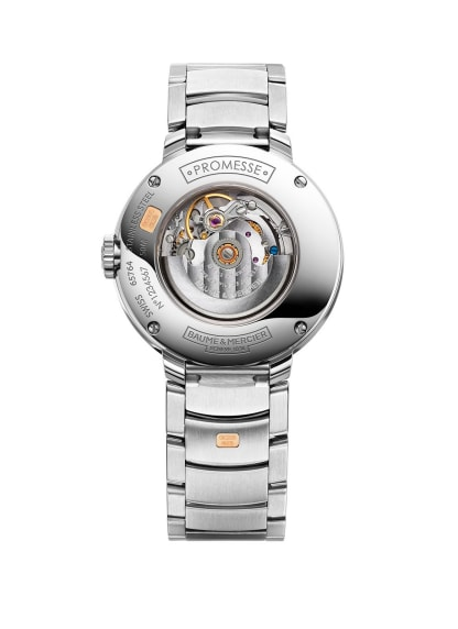 Promesse 10239 Watch for ladies | Check Prices on Baume & Mercier Back -