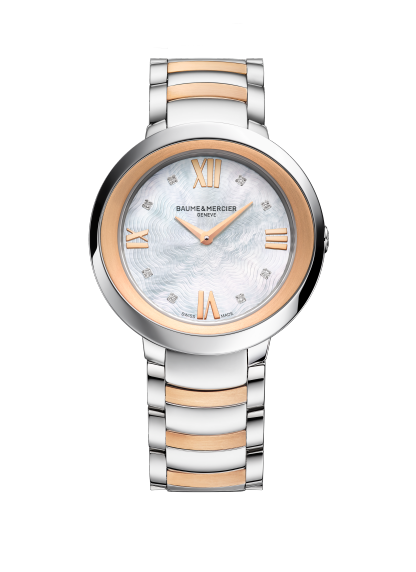 Promesse 10252 Watch for ladies | Check Prices on Baume & Mercier - Front