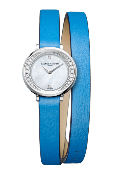 Petite Promesse 10288 Watch for ladies | Check Prices on Baume & Mercier Front -