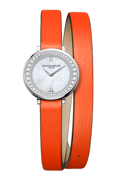 Petite Promesse 10290 Watch for ladies | Check Prices on Baume & Mercier Front -