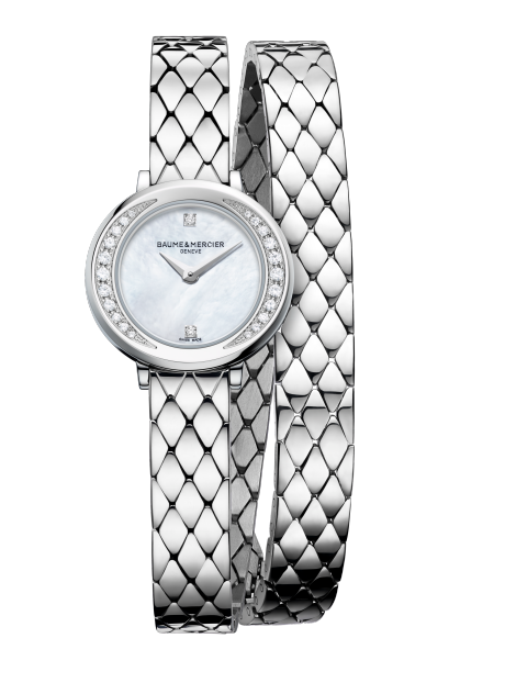 Petite Promesse 10289 Watch for ladies | Check Prices on Baume & Mercier Front -