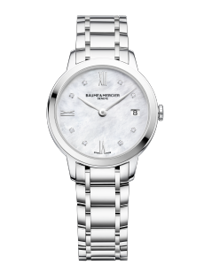 Classima 10326 Watch for ladies | Check Prices on Baume & Mercier - Front