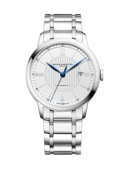 Classima 10334 Watch for men | Check Prices on Baume & Mercier - Front
