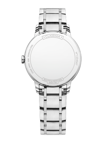 Classima 10335 Watch for ladies | Check Prices on Baume & Mercier Back -