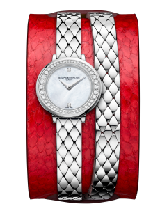 Petite Promesse 10290 Watch for ladies | Check Prices on Baume & Mercier - Front