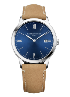 Classima 10385 Watch for men | Check Prices on Baume & Mercier - Front