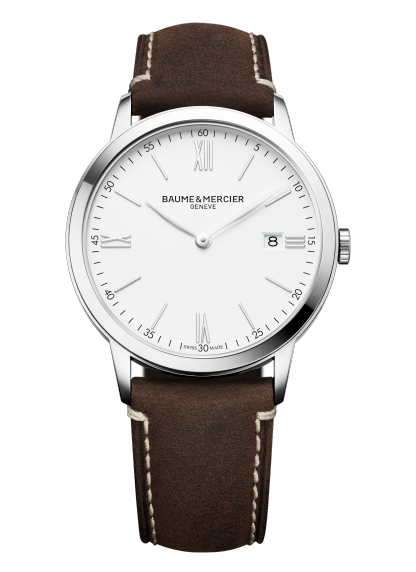 Classima 10389 Watch for men | Check Prices on Baume & Mercier - Front