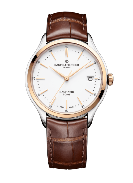 Clifton Baumatic 10401 Watch for men | Check Prices on Baume & Mercier Front -