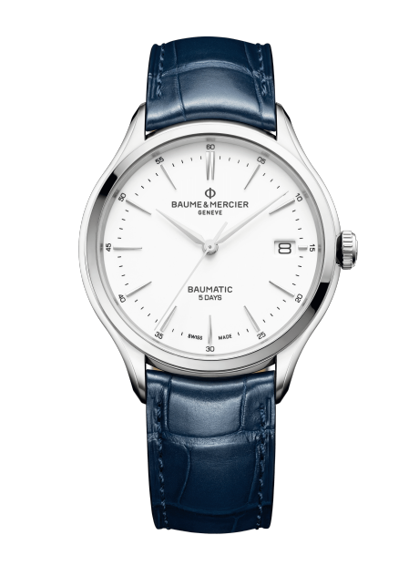 Clifton Baumatic 10398 Watch for men | Check Prices on Baume & Mercier Front -