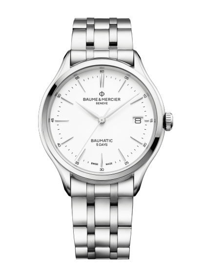 Clifton Baumatic 10400 Watch for men | Check Prices on Baume & Mercier - Front