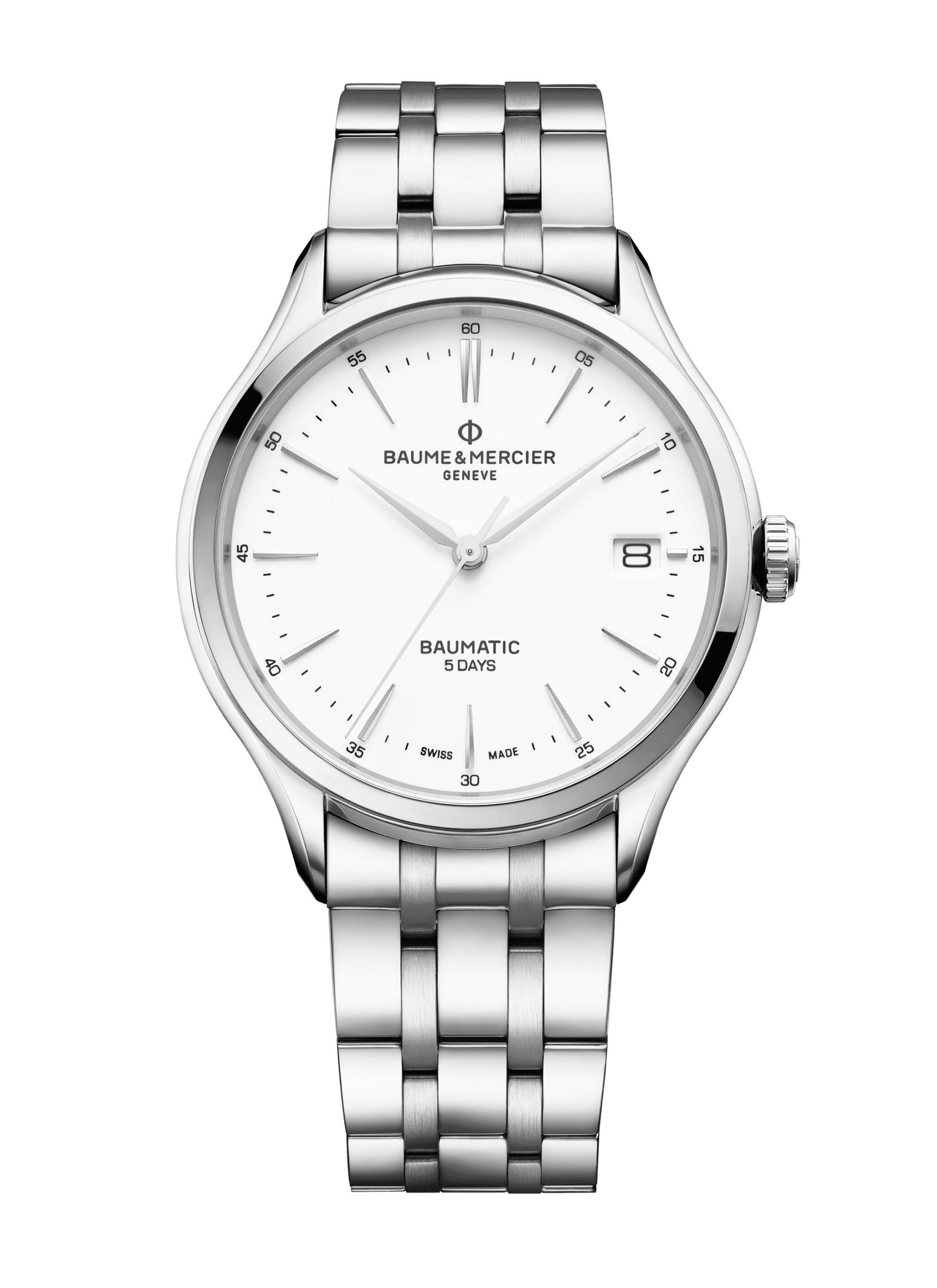 Clifton Baumatic 10400 Watch for men | Check Prices on Baume & Mercier Front -