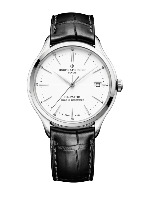 Clifton Baumatic 10436 Watch for men | Check Prices on Baume & Mercier Front -