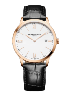 Classima 10441 Watch for men | Check Prices on Baume & Mercier - Front