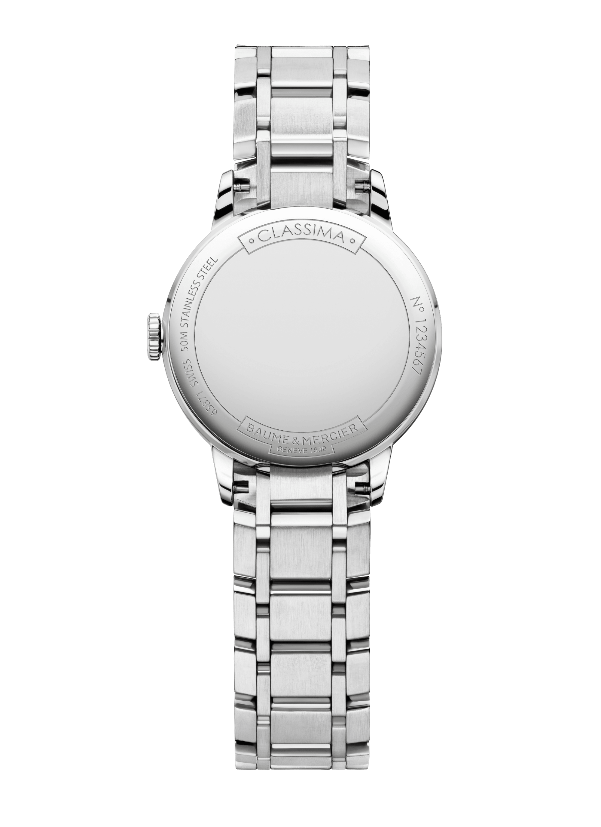 Classima 10489 Watch for ladies | Check Prices on Baume & Mercier Back -