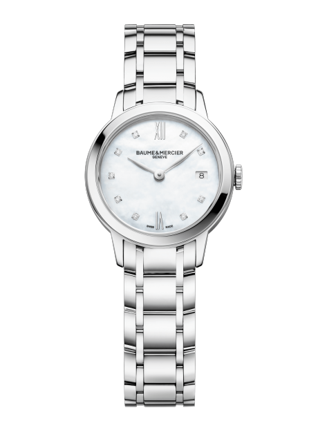 Classima 10490 Watch for ladies | Check Prices on Baume & Mercier Front -