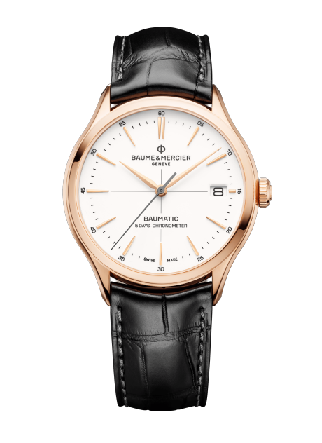 Clifton Baumatic 10469 Watch for men | Check Prices on Baume & Mercier Front -