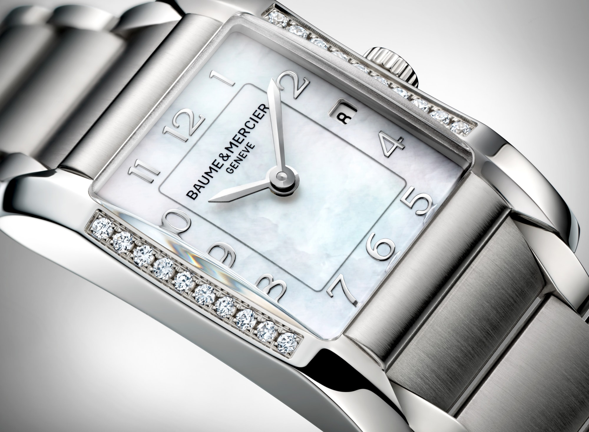 Hampton 10051 Watch for ladies | Check Prices on Baume & Mercier 3|4 Detail -