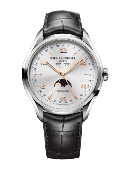 Clifton 10055 Watch for men | Check Prices on Baume & Mercier - Front
