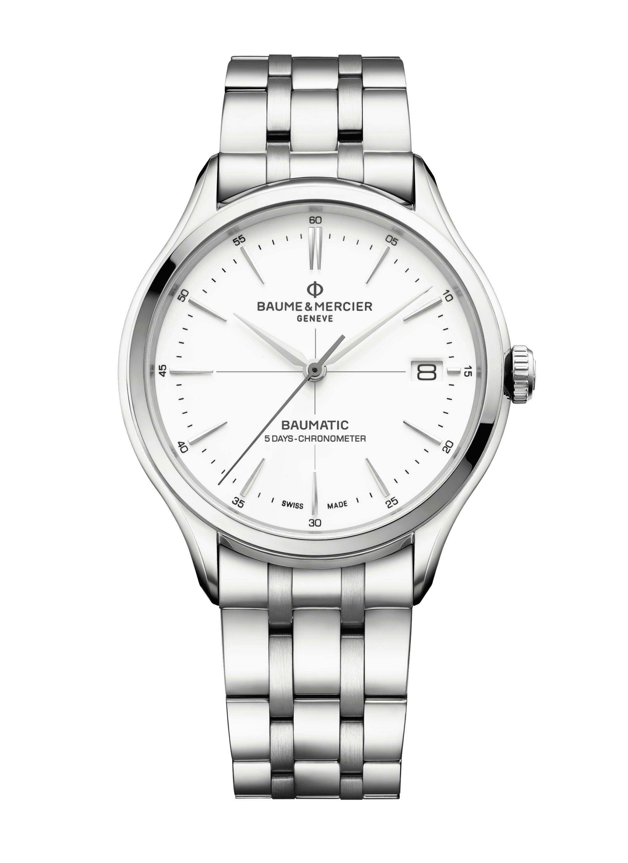 Clifton Baumatic 10505 Watch for men | Check Prices on Baume & Mercier Front -