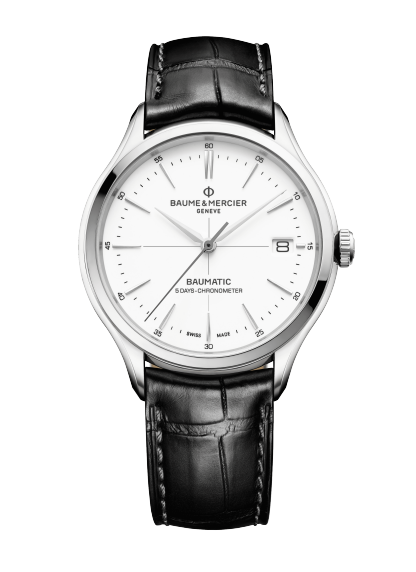Clifton Baumatic 10518 Watch for men | Check Prices on Baume & Mercier Front -