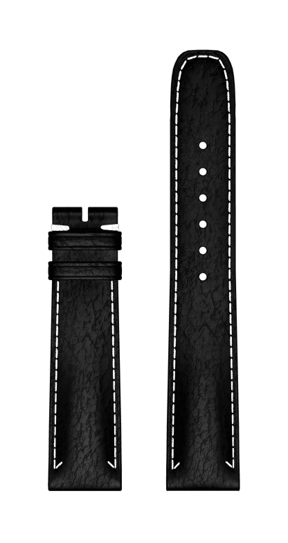Bracelet Veau Noir watch strap 20 MM - MX006SMW Baume & Mercier Face -