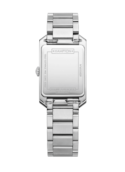 Hampton 10474 Watch for ladies | Check Prices on Baume & Mercier Back -