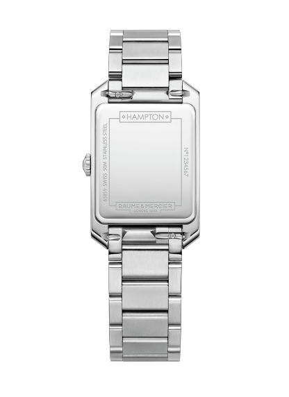 Hampton 10476 Watch for ladies | Check Prices on Baume & Mercier Back -