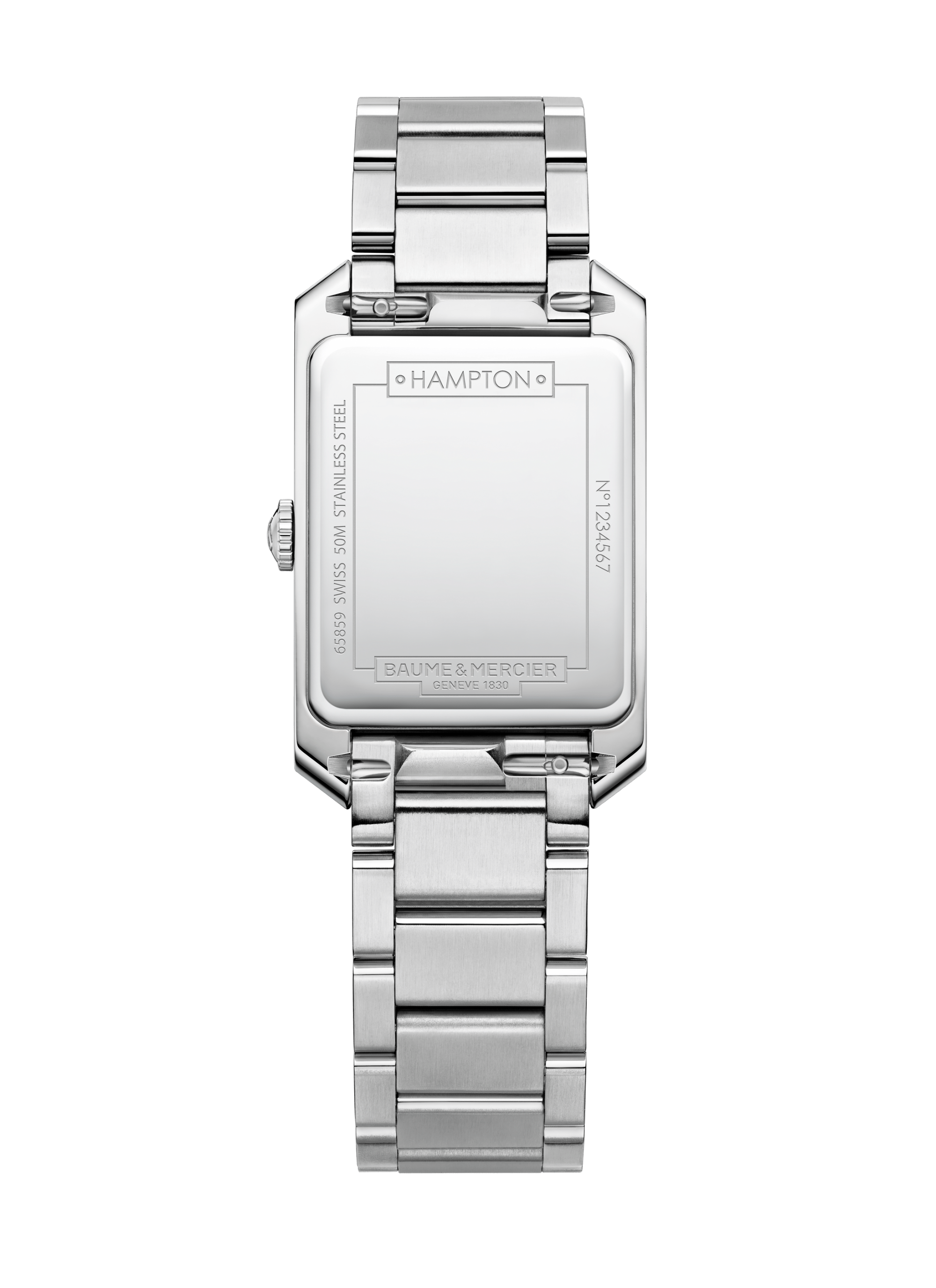 Hampton 10473 Watch for ladies | Check Prices on Baume & Mercier Back -