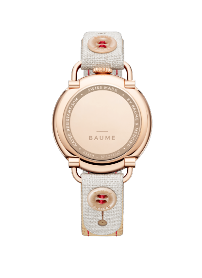 Baume 10602 Watch for ladies | Check Prices on Baume & Mercier Back -