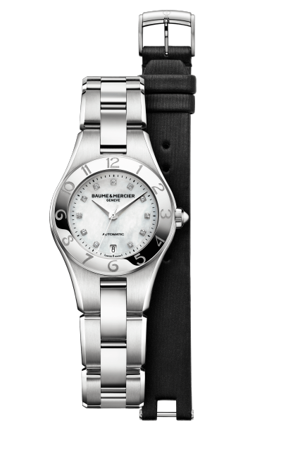 Linea 10113 Watch for ladies | Check Prices on Baume & Mercier - Front