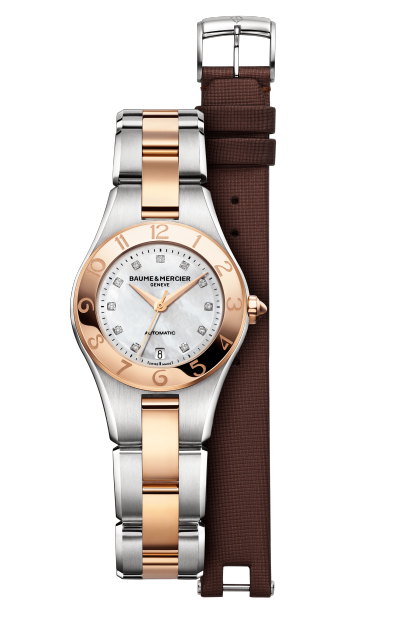 Linea 10114 Watch for ladies | Check Prices on Baume & Mercier - Front