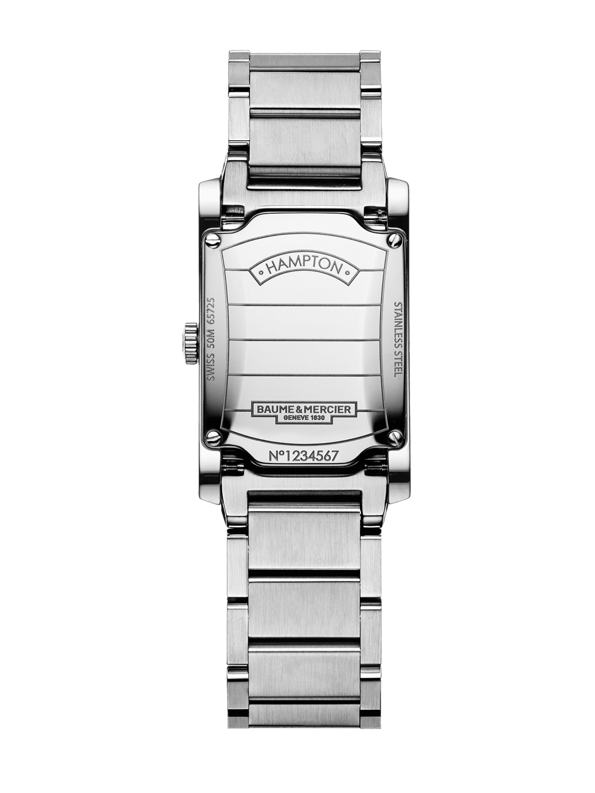 Hampton 10051 Watch for ladies | Check Prices on Baume & Mercier Back -