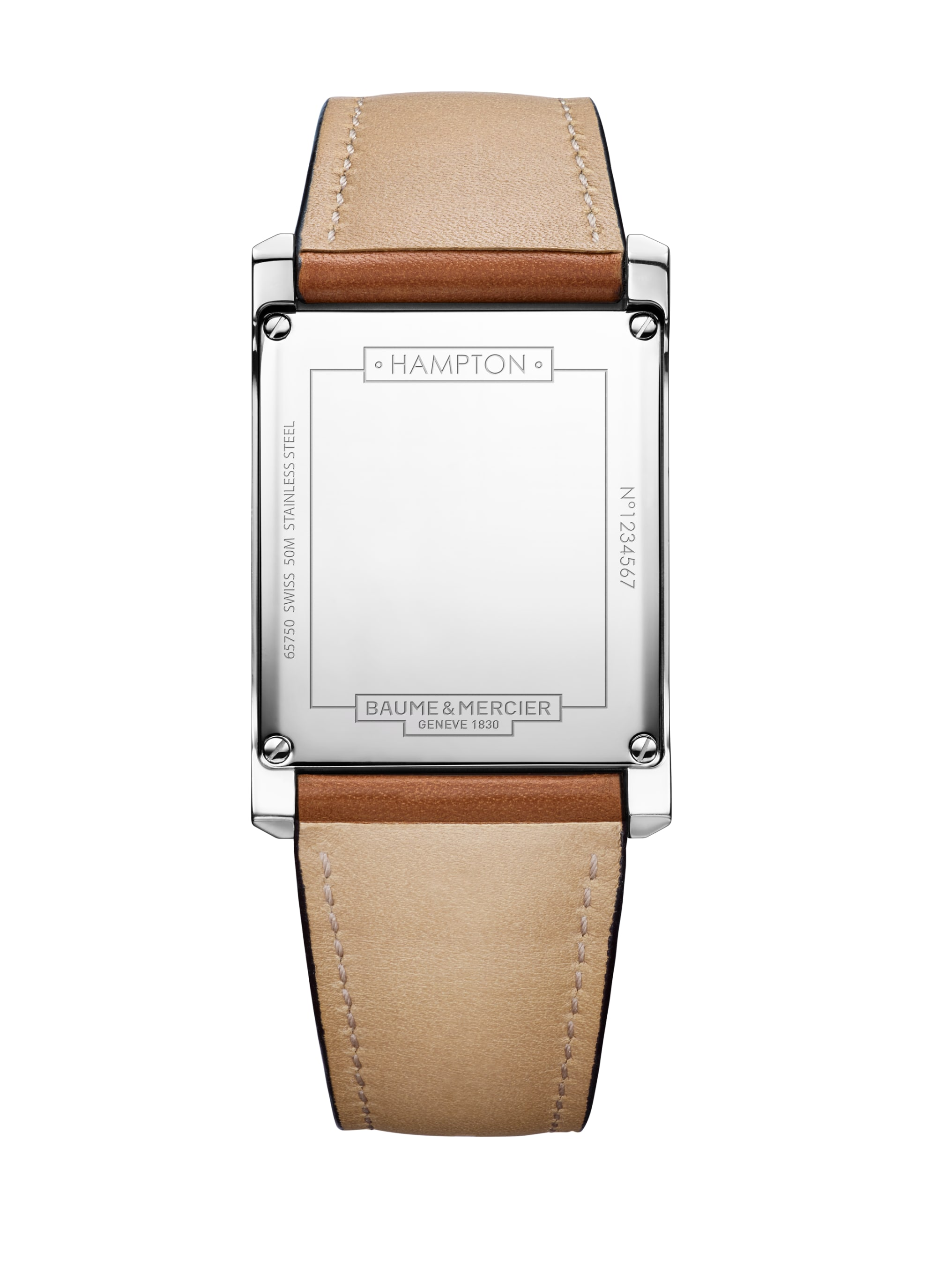 Hampton 10153 Watch for men | Check Prices on Baume & Mercier Back -