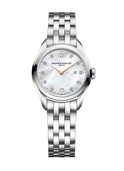 Clifton 10176 Watch for ladies | Check Prices on Baume & Mercier - Front