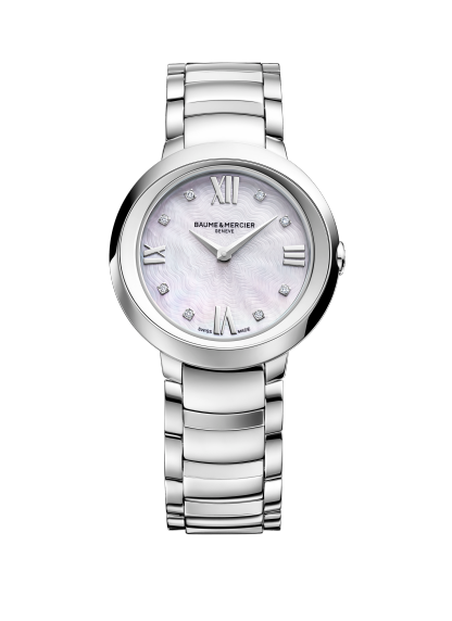 Promesse 10158 Watch for ladies | Check Prices on Baume & Mercier Front -