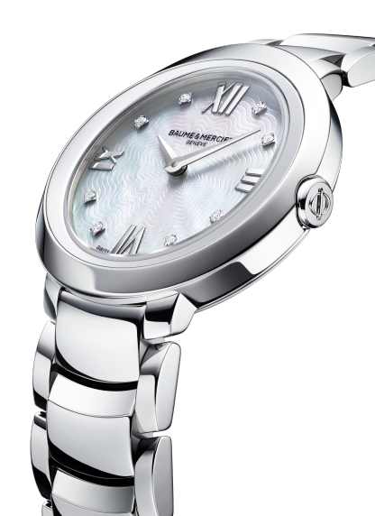 Promesse 10158 Watch for ladies | Check Prices on Baume & Mercier 3|4 Detail -