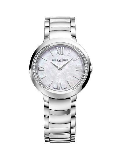 Promesse 10160 Watch for ladies | Check Prices on Baume & Mercier - Front