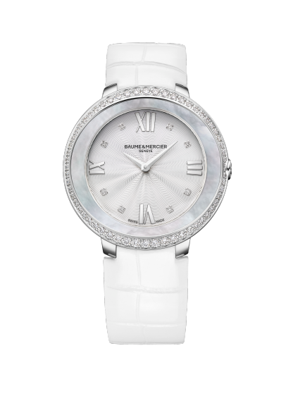 Promesse 10165 Watch for ladies | Check Prices on Baume & Mercier Front -