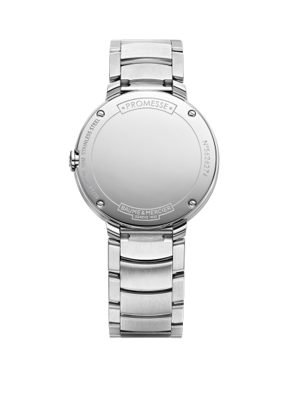 Promesse 10160 Watch for ladies | Check Prices on Baume & Mercier Back -
