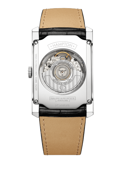 Hampton 10155 Watch for men | Check Prices on Baume & Mercier Back -