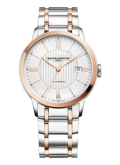 Classima 10217 Watch for men | Check Prices on Baume & Mercier - Front