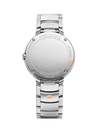 Promesse 10159 Watch for ladies | Check Prices on Baume & Mercier Back -