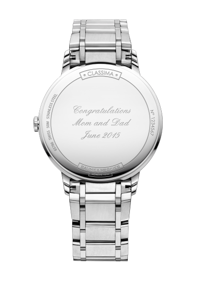 Classima 10225 Watch for ladies | Check Prices on Baume & Mercier Back -