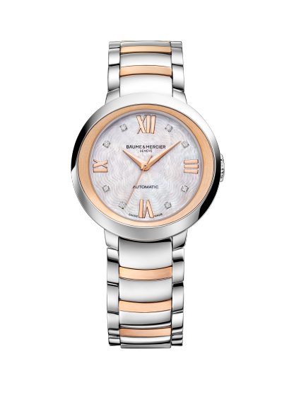 Promesse 10239 Watch for ladies | Check Prices on Baume & Mercier - Front