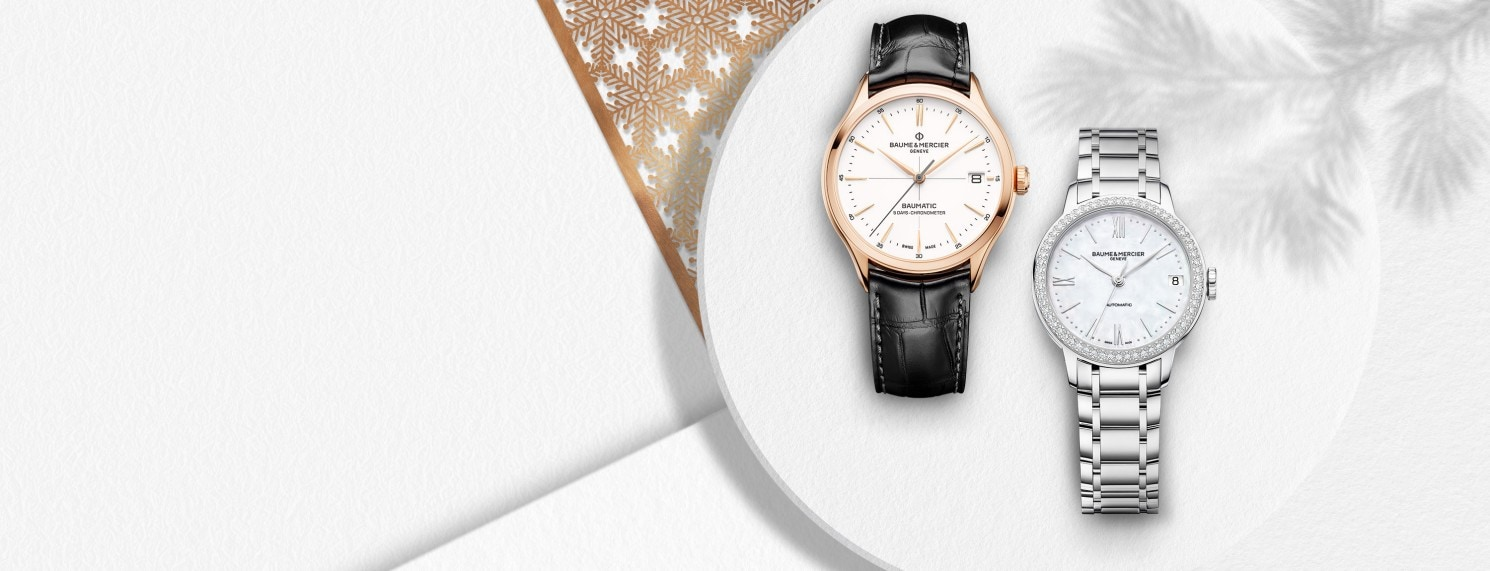 Seasons greetings Baume et Mercier